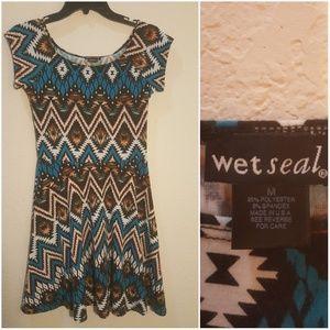 Chevron TShirt Dress